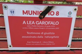Milano, vandali contro la targa di Lea Garofalo, la testimone di giustizia uccisa dalla 'ndrangheta