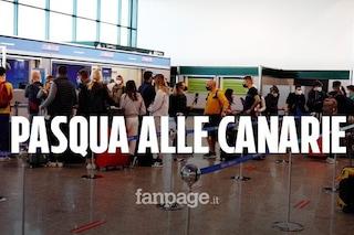 """A Malpensa i passeggeri in partenza per le Canarie: """"Più che vacanza è una fuga dall'Italia"""""""