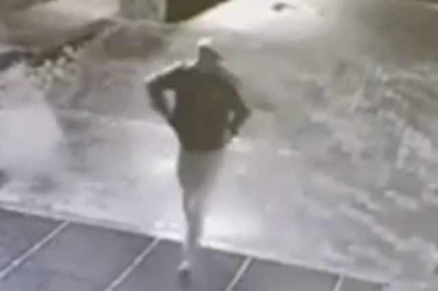 Un frame del video della fuga
