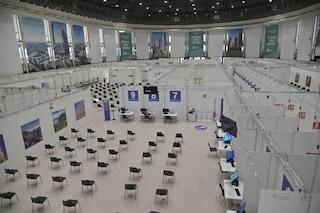 Palazzo delle Scintille pronto a partire con i vaccini anti-Covid: sarà il più grande hub d'Italia