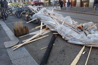 Allerta arancione per vento forte a Milano: nessun ferito, ma tanti danni in città