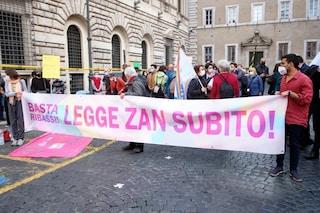 """A Milano una manifestazione per il Ddl Zan, I Sentinelli: """"Basta attese, il tempo è scaduto"""""""