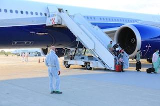 Orio al Serio, atterrato il volo dall'India con 146 passeggeri: trasportati ai Covid hotel
