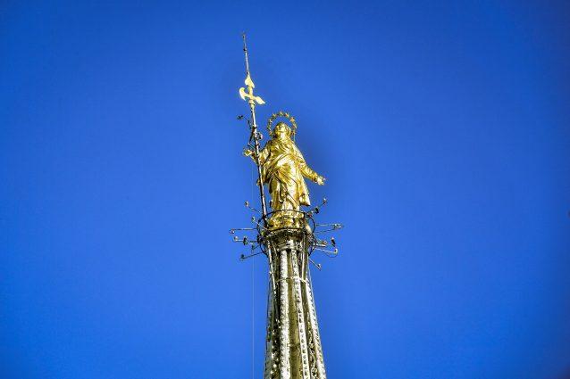 La Madonnina del Duomo di Milano (Archivio LaPresse)