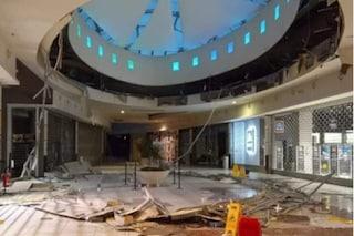 San Giuliano Milanese, paura al centro commerciale Le Cupole: crolla parte del controsoffitto