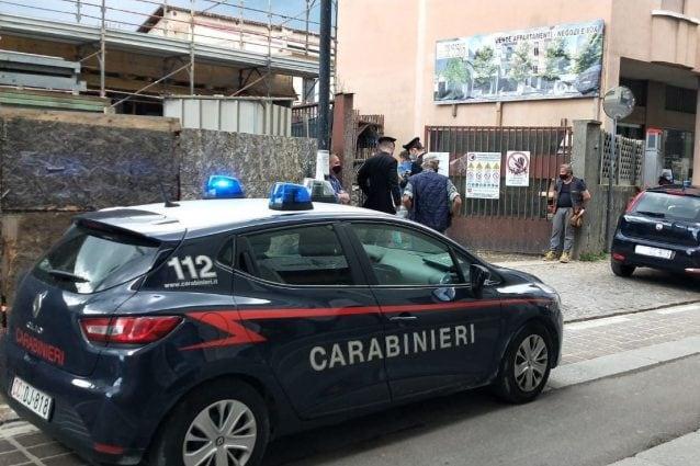 I carabinieri sul luogo dell'incidente (Fonte: carabinieri)