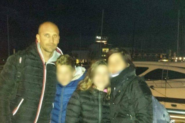 Maurizio Gritti con la sua famiglia (Fonte: Facebook)