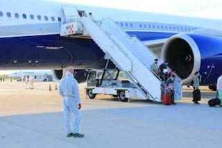 Volo dall'India atterrato a Bergamo: una delle passeggere è stata ricoverata per Covid