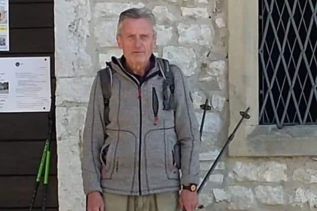 Andrea Rota, il 72enne scomparso