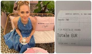 Quanto costa il caffè di Chiara Ferragni nel suo temporary bar di Milano