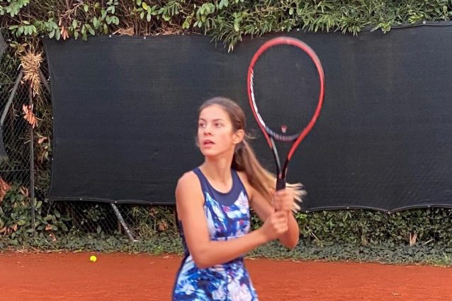 Cloe Giani (Foto dalla pagina Facebook di Golarsa tennis academy)