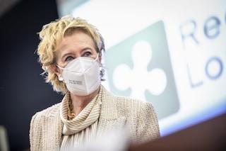 """Lombardia, l'annuncio di Letizia Moratti: """"Tamponi gratuiti per gli under 12 ogni due settimane"""""""