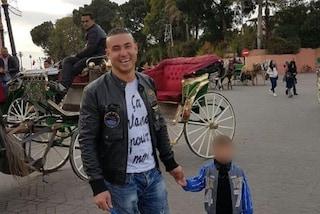 La Comunità marocchina alla manifestazione a Voghera per Youns, ucciso dall'assessore Adriatici