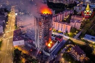 Incendio alla Torre dei Moro, il Comune di Milano stanzia mezzo milione di euro per gli sfollati