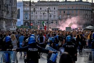Resta in carcere il no green pass arrestato sabato a Milano: a processo il 2 novembre