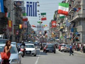 Corso Buenos Aires a Milano (Archivio)