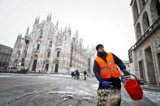 Allerta meteo a Milano: in arrivo una bomba di neve. Venerdì previsti fino a 20 centimetri
