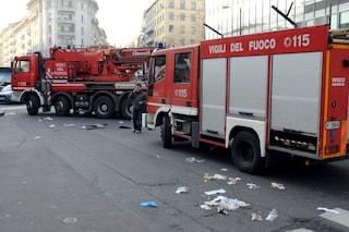 Milano, dimentica una sigaretta accesa nella stanza affittata e causa un incendio nell'hotel