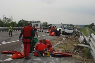 Redondesco, incidente stradale sulla Postumia: due morti e sette feriti, grave un bimbo