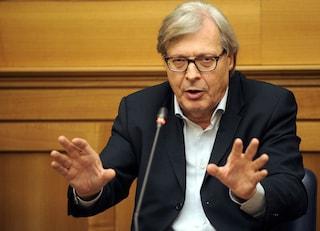 Polemiche per nomina di Sgarbi a commissario beni culturali di Codogno, 2 giorni fa era con i No Vax