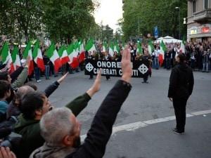 La manifestazione per Sergio Ramelli del 2015
