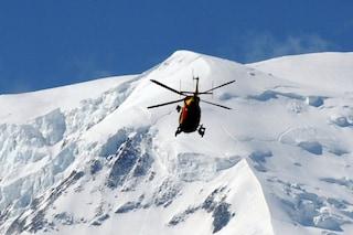 Incidente in montagna in Valfurva: due alpinisti precipitano sul ghiacciaio dei Forni, uno è morto