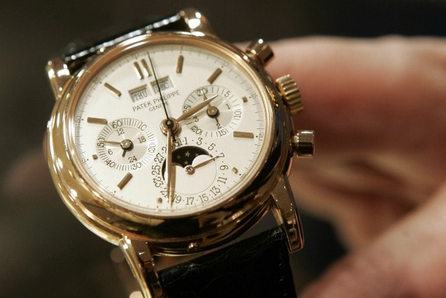 Un orologio Patek Philippe (Getty images)