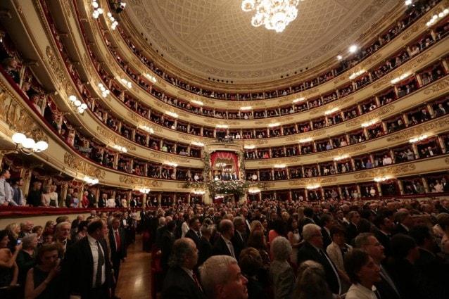 L'interno del Teatro alla Scala (Archivio LaPresse)