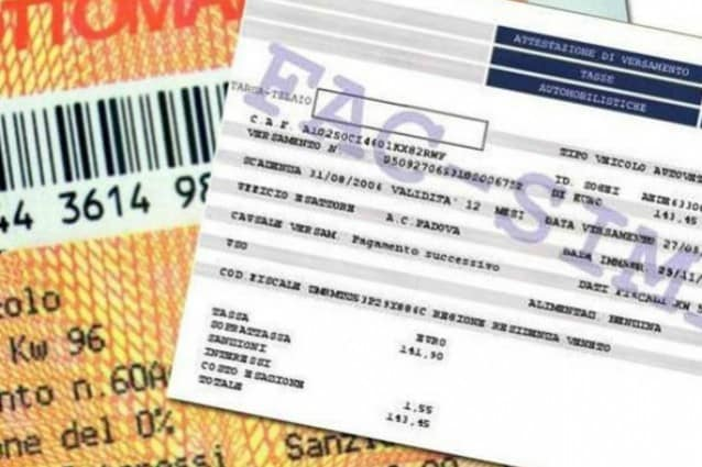 La Regione: sospensione bollo e proroga delle tasse al 31 ottobre