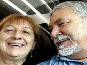 Gianna del Gaudio e il marito Antonio Tizzani