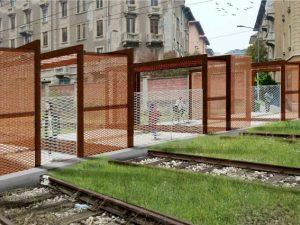 Il rendering della nuova passerella pedonale