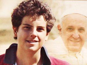 """Carlo Acutis, 15 anni, futuro """"Patrono di Internet""""."""