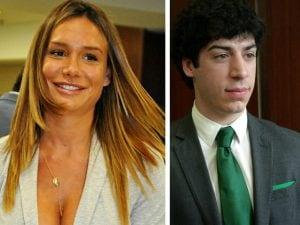 Nicole Minetti e Renzo Bossi, figlio di Umberto