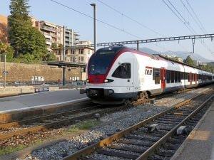 Uno dei treni Tilo che collegano la Lombardia con il Ticino