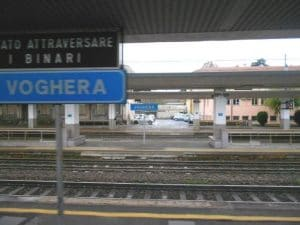La stazione di Voghera (foto di repertorio)