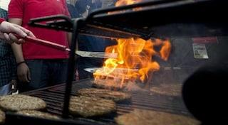 Cologno Monzese, beccati a grigliare carne in un'area verde: due denunce e sette multe