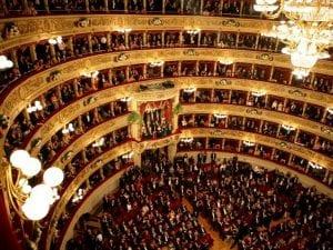 Il teatro alla Scala di Milano