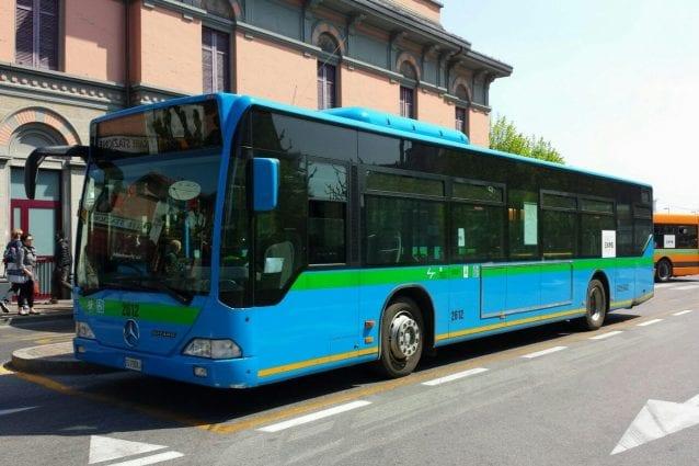 Un bus di Asf autolinee