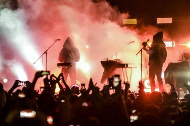L'esibizione di Liberato a Napoli