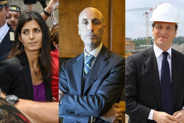 Virginia Raggi, Luca Lanzalone, Luca Parnasi