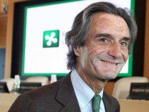 Attilio Fontana, presidente della Regione Lombardia (Foto LaPresse)