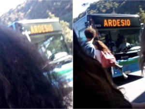 L'incidente a Gazzaniga