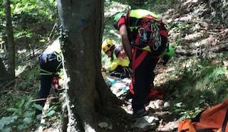 Giovani fidanzati di Milano si perdono nei boschi di Varenna: salvati dal soccorso alpino