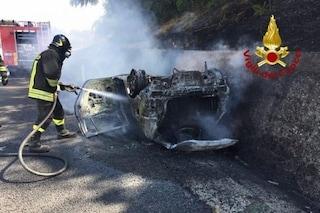 Provaglio d'Iseo, incidente sulla strada provinciale 10: uomo di 38 anni muore carbonizzato