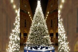 Milano, l'Albero di Natale Swarovski illumina la Galleria Vittorio Emanuele II: ecco come sarà