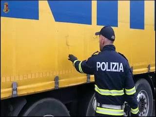 Rubavano le merci da camion e tir durante la notte: sette arresti a Monza