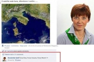 """Scrisse """"Forza Vesuvio"""" su Facebook, consigliera leghista assolta: """"Più ignoranza che ideologia"""""""