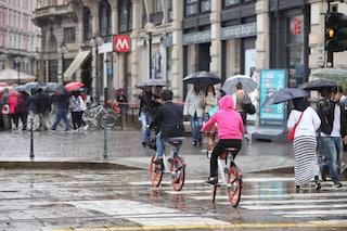 Temporali e raffiche di vento: sabato allerta meteo a Milano e in Lombardia