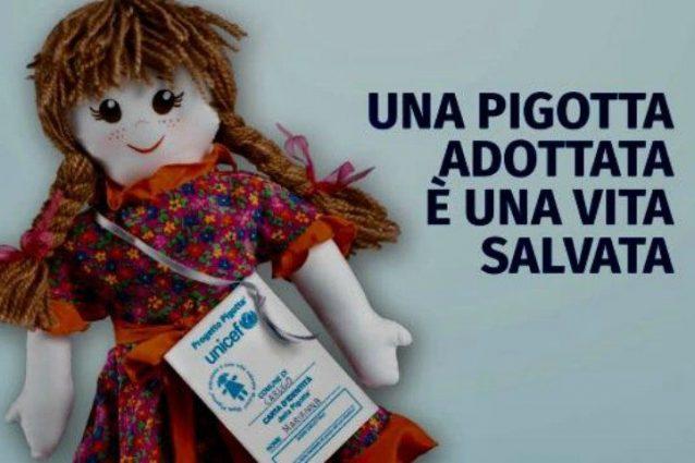 """Una """"pigotta"""" dell'Unicef"""