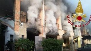 Cabiate, a fuoco l'osteria La Pergola in provincia di Como: l'incendio in mattinata